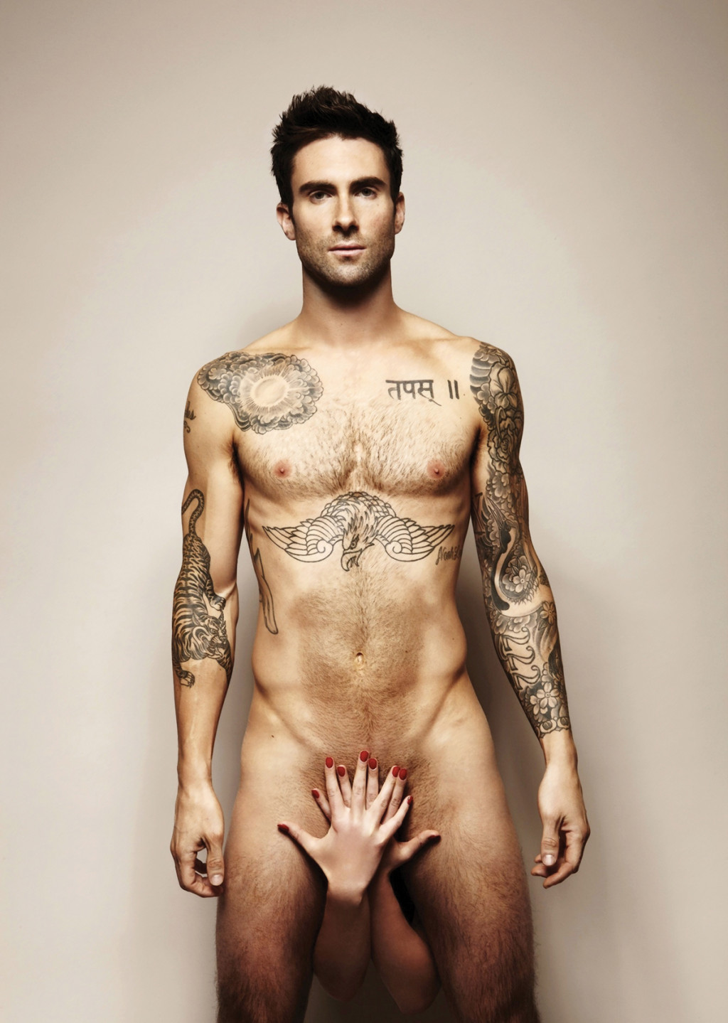 Adam Levine naked pic
