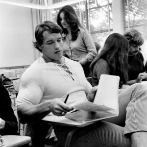 Arnold Schwarzenegger tight clothes