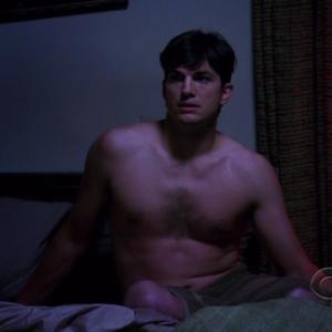 ashton kutcher chest