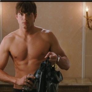 Ashton Kutcher sexy shirtless