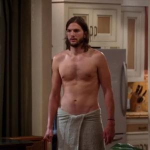 Ashton Kutcher naked body