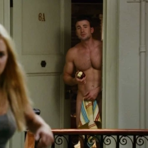 chris evans dick slip