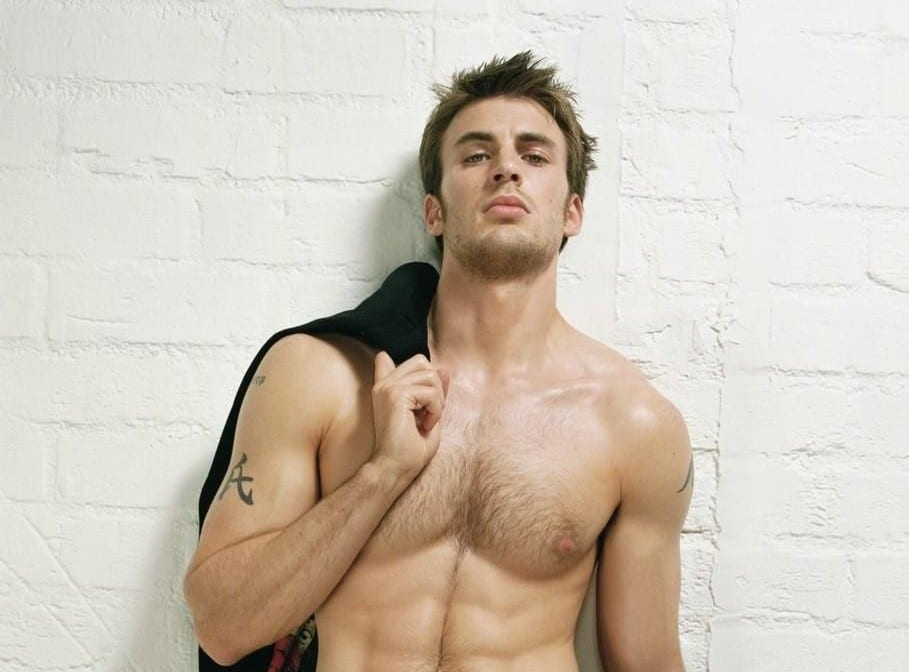 chris evans hot