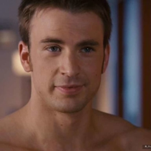 chris evans naked body