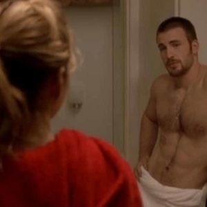 chris evans sexy naked