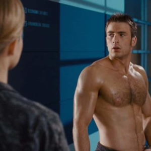 chris evans uncensored nude pic