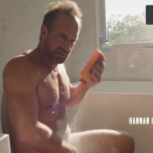 Christopher Meloni naked masturbating
