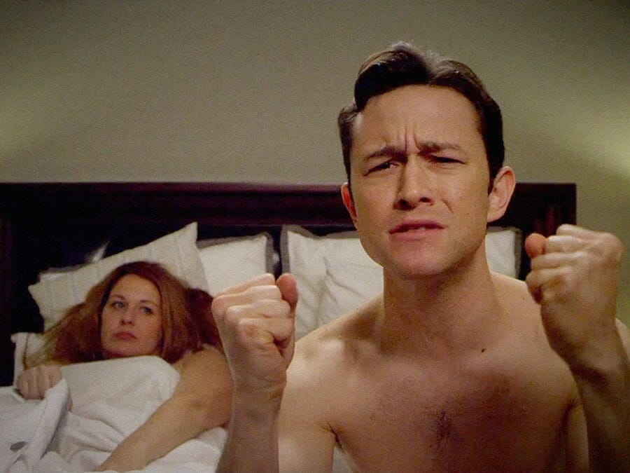 JGL in bed