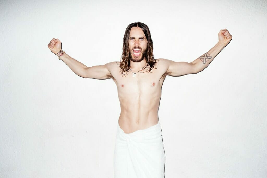 Jared Leto nude with Terry Richardson (2)