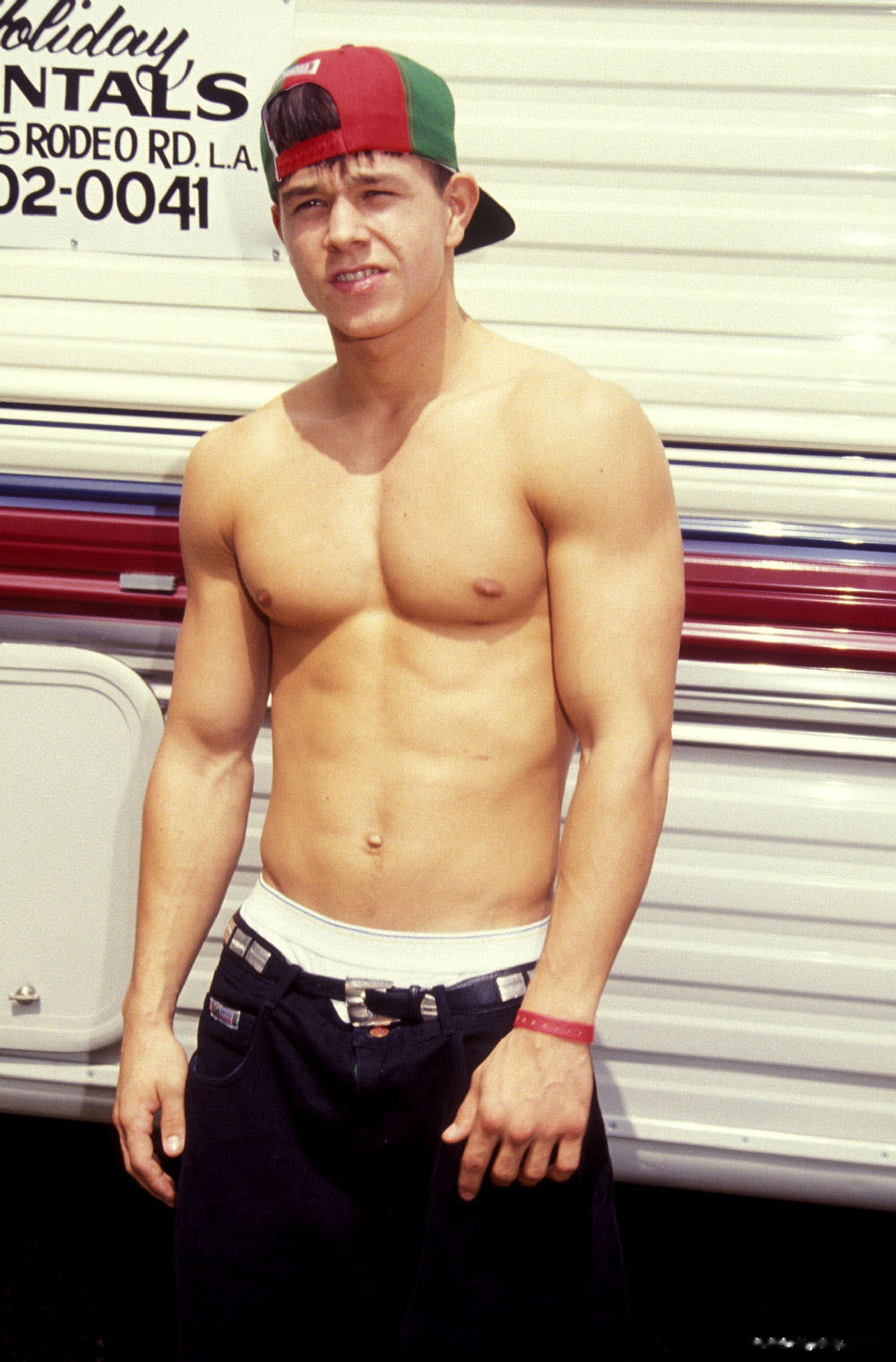 mark wahlberg chest