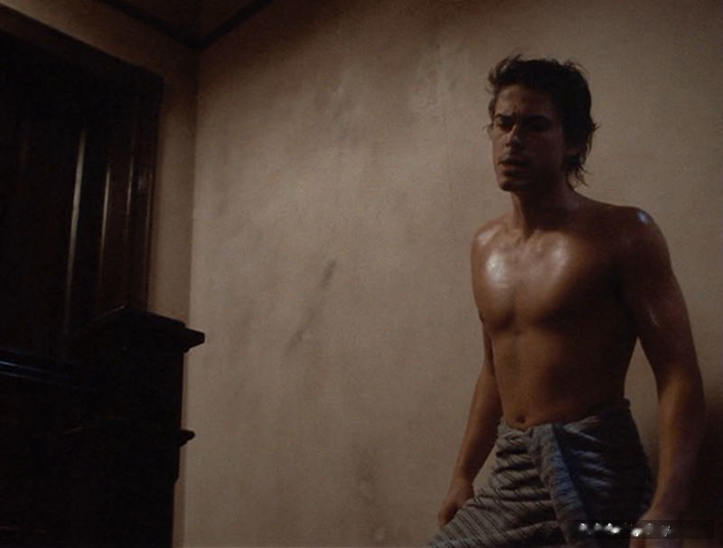 Rob Lowe chest