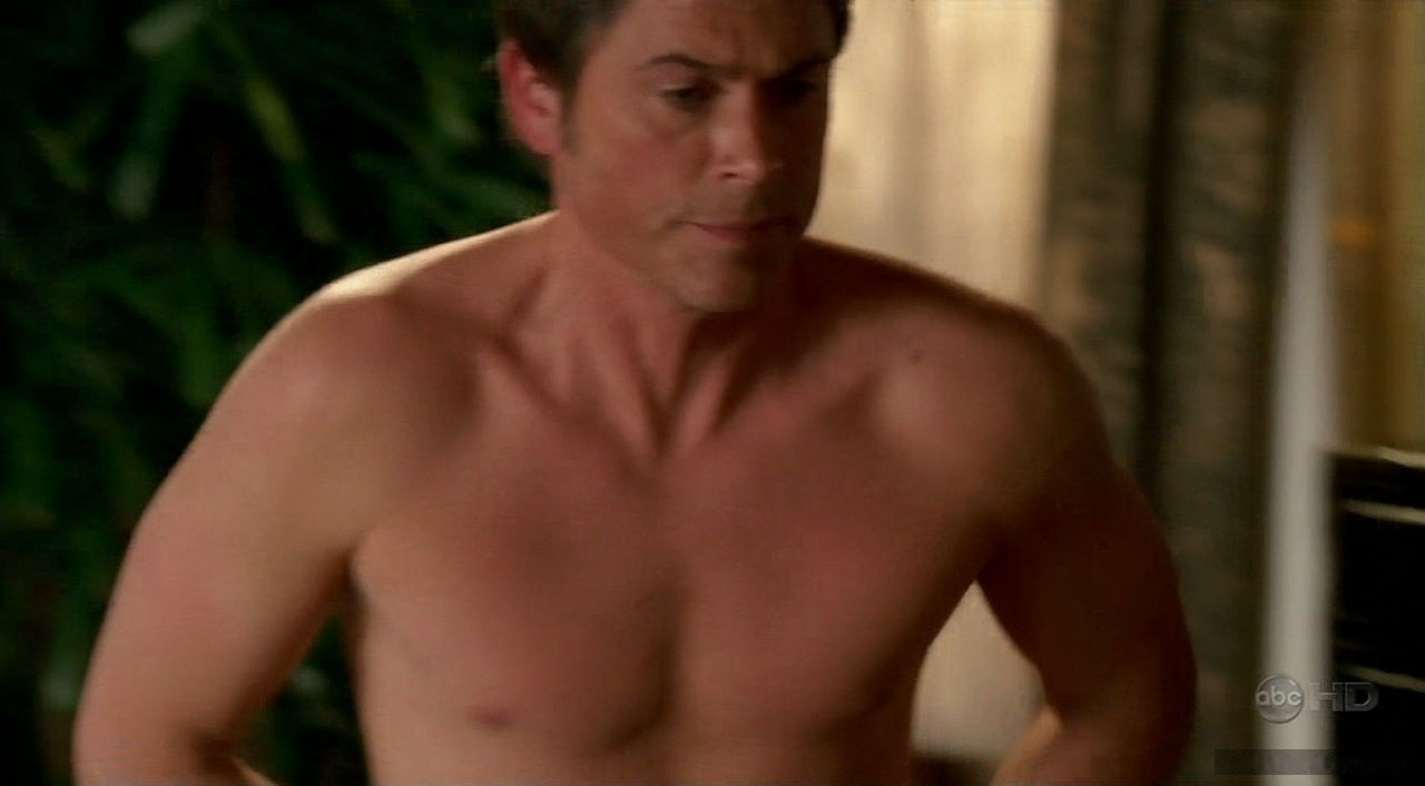 Rob Lowe jerking off