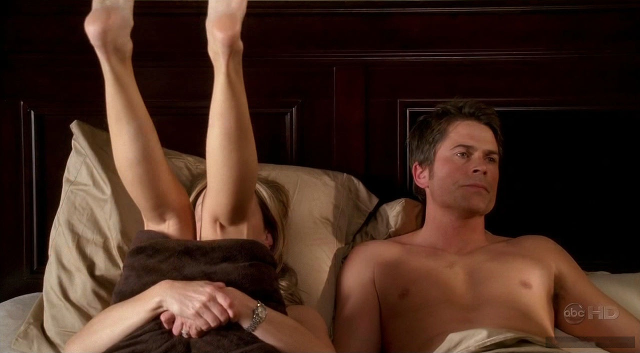 Rob Lowe penis showing
