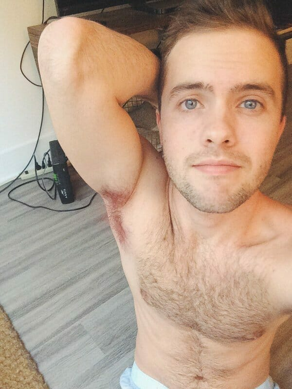 Ryland Adams nude chest