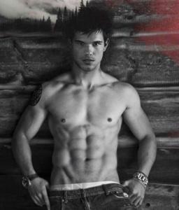 Taylor Lautner body