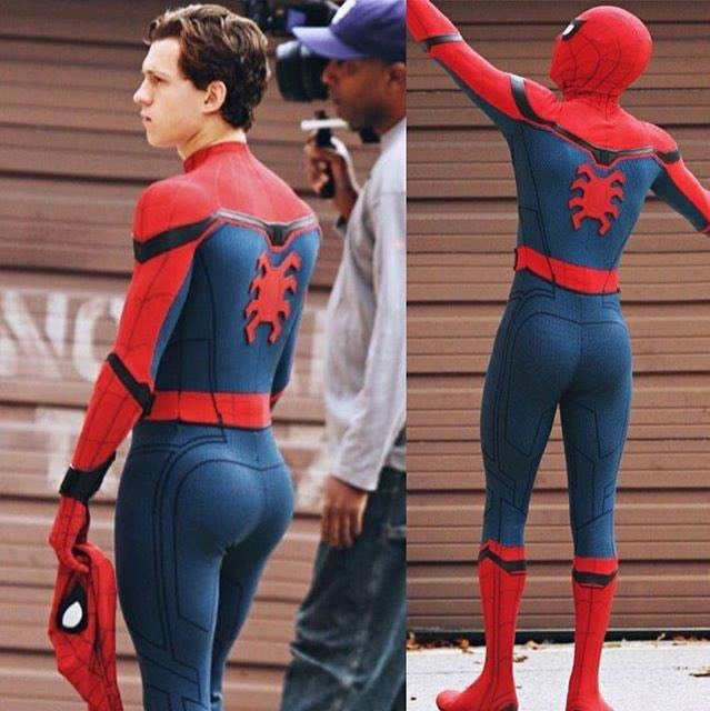 Tom Holland butt as Spiderman
