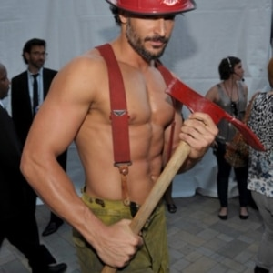 Joe Manganiello sexy fire man