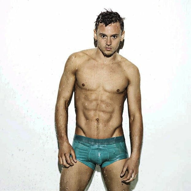 Tom Daley big bulge