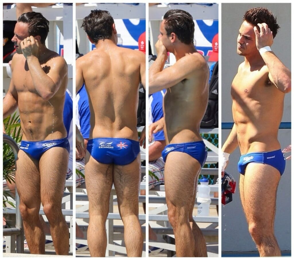 Tom Daley body