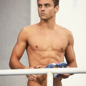 Tom Daley sexy chest