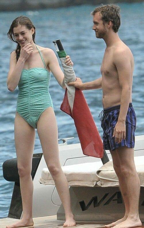 Adam Shulman sexy shirtless pic on boat