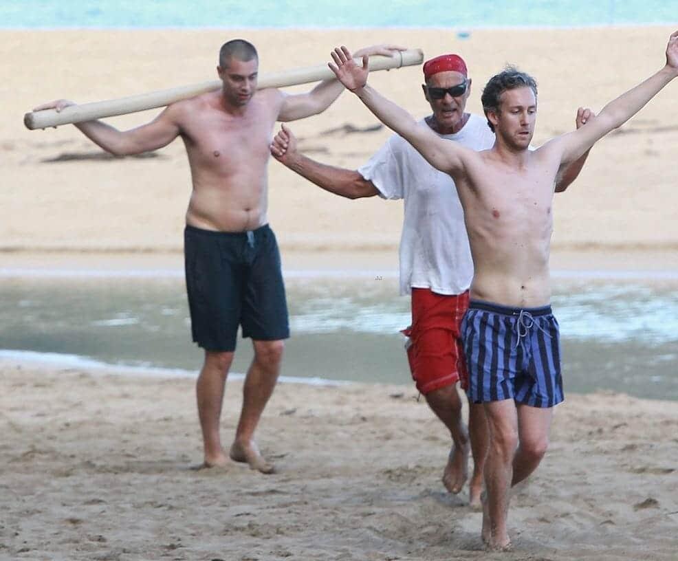 Adam Shulman shirtless and hot