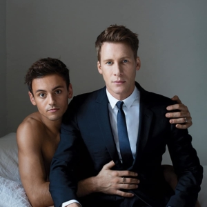 Dustin Lance Black Gay Photoshoot with Tom Daley (3)