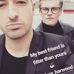 Josh Harwood sucking cock
