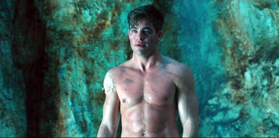 Chris Pine sexy body Wonderwoman
