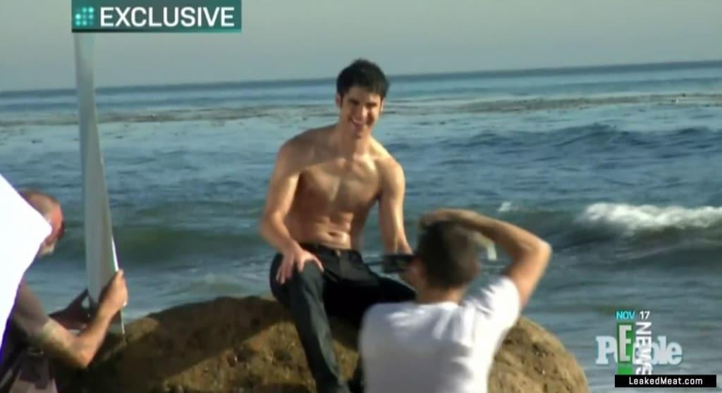 Darren Criss bulge