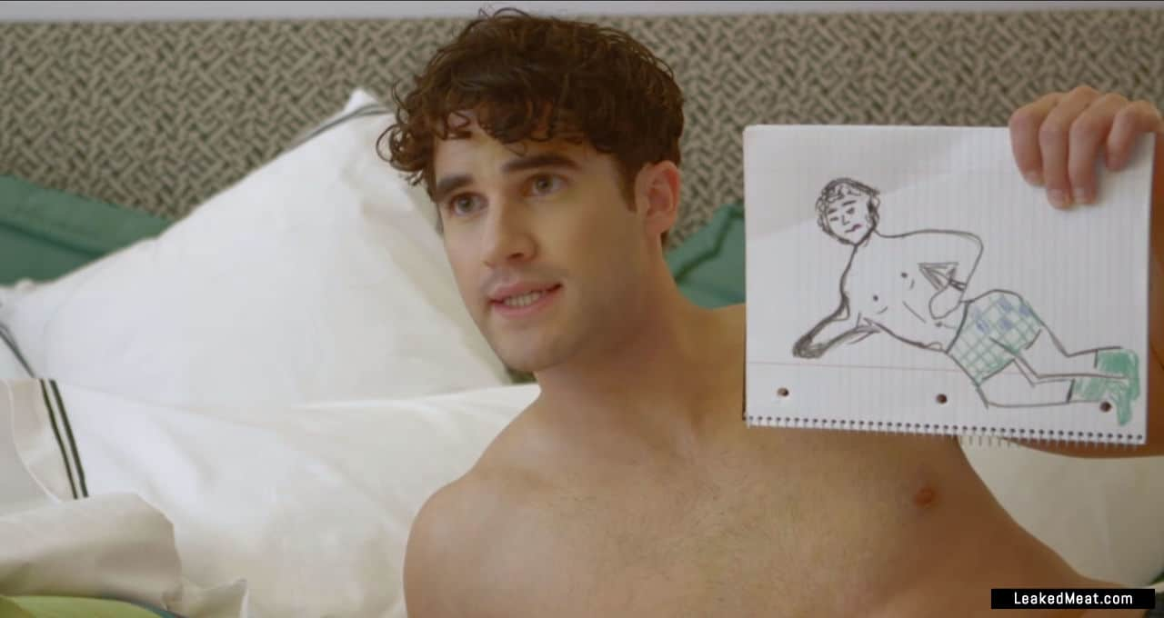 Darren Criss full frontal