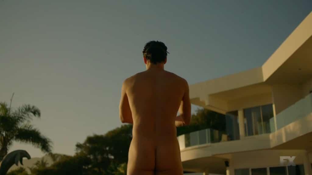 Darren Criss nude ass