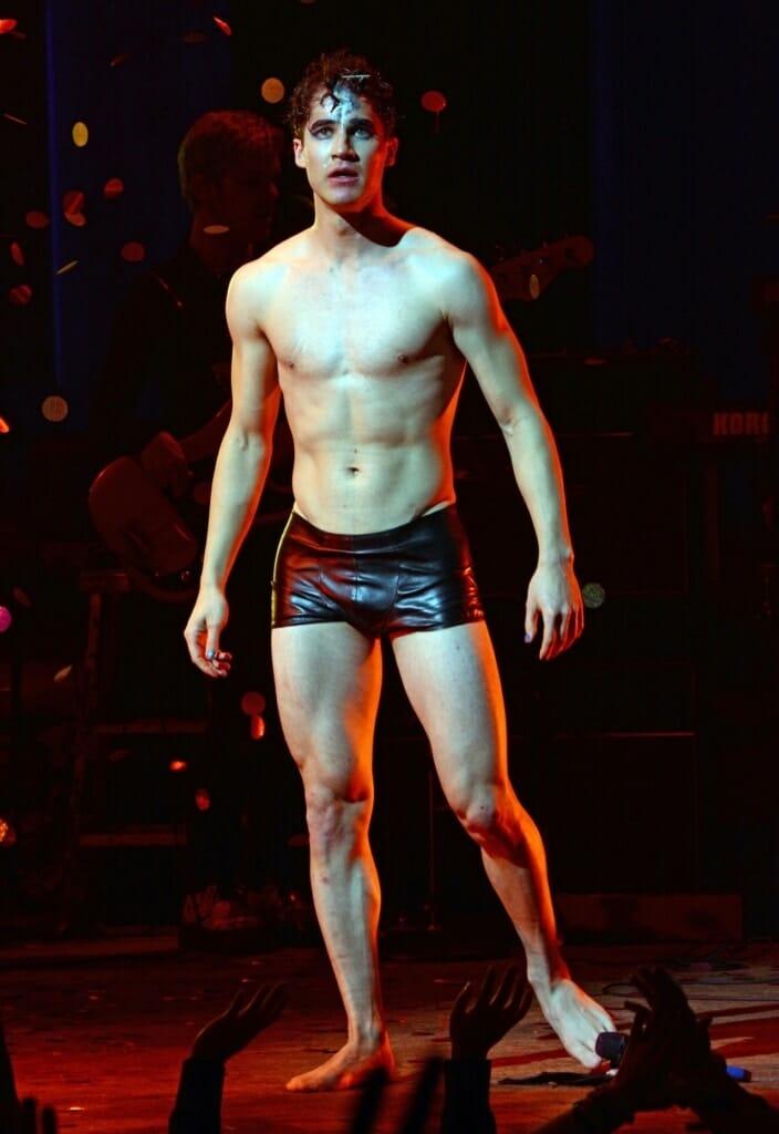 Darren Criss shirtless