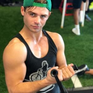 Garrett Clayton muscles
