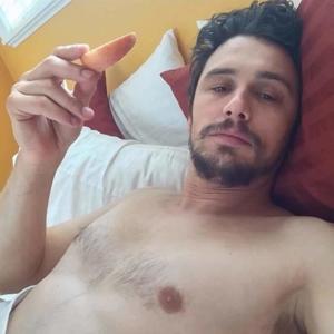 James Franco shirtless