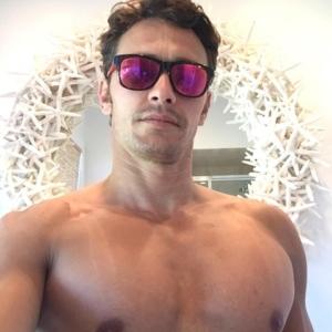 James Franco chest