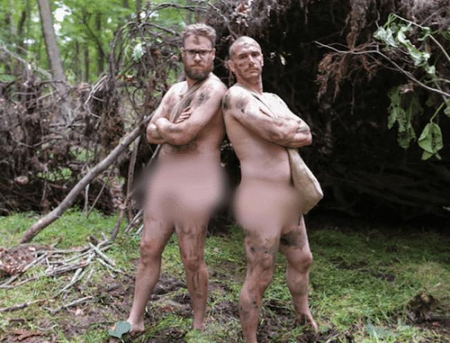 James Franco nude with Seth Rogan