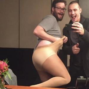 James Franco leaked mirror selfie