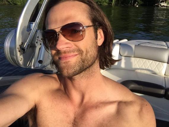 Jared Padalecki shirtless sexy