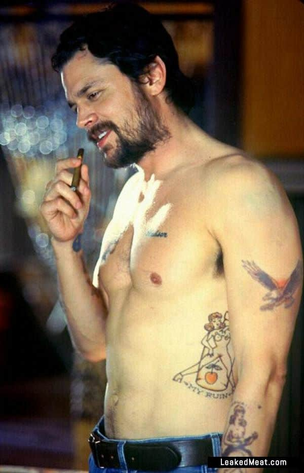 Johnny Knoxville full frontal