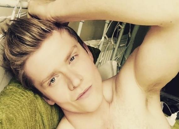 Josh Harwood selfie leaked