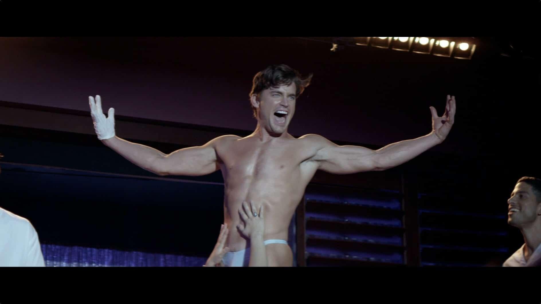 Matt Bomer gay stripper