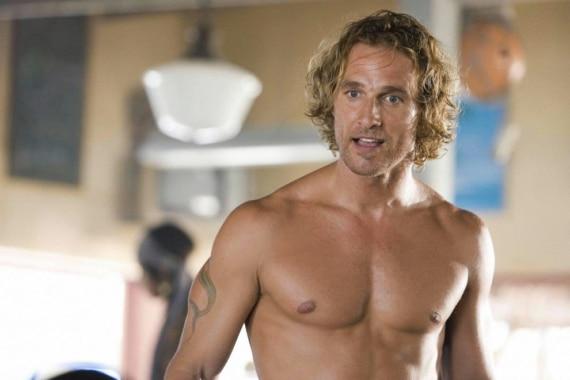 Matthew McConaughey bare chest