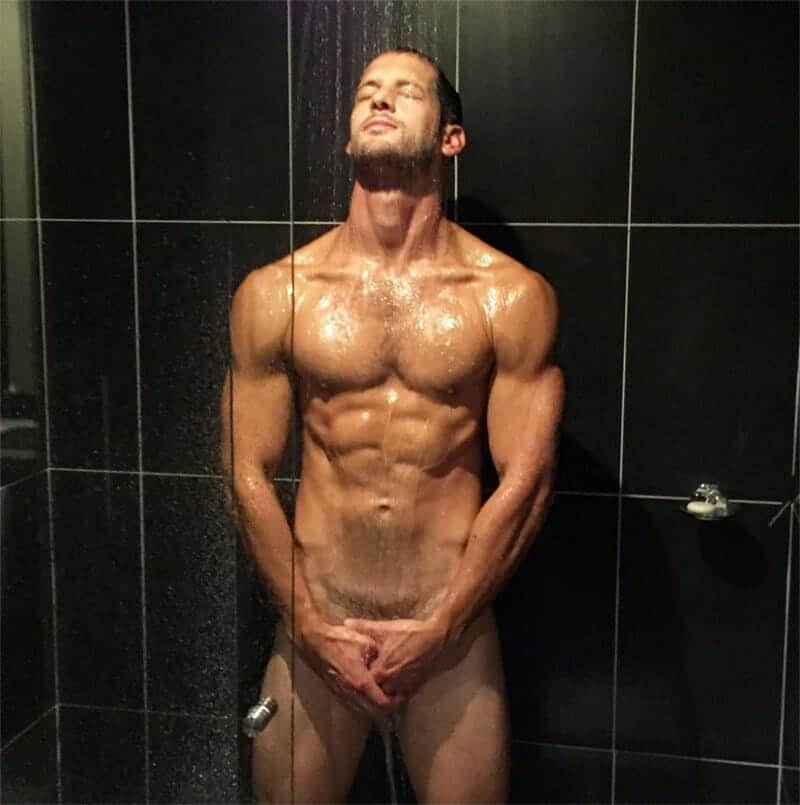 Max Emerson naked shower leaked pic