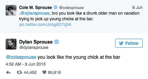 Sprouse twin leaks