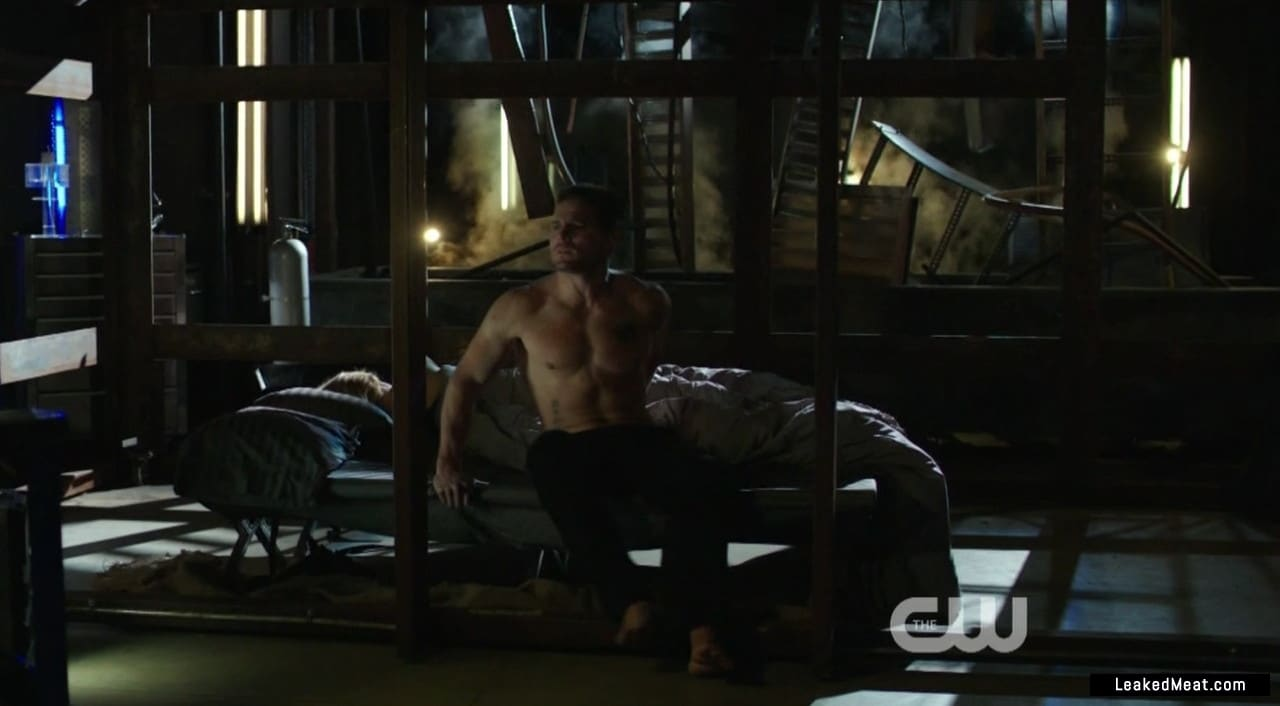 Stephen Amell chest