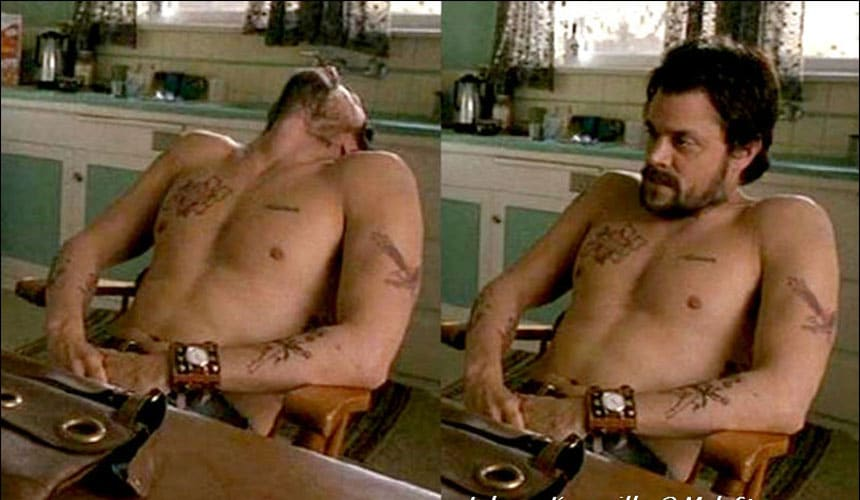 Johnny Knoxville shirtless sexy pic