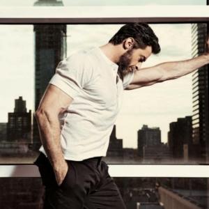 Hugh Jackman biceps