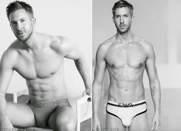 Calvin Harris underwear picture
