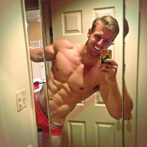 Cody Deal sexy selfie